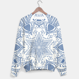 Miniatur Blue and White Pottery Howlsplann Mandala Sweater, Live Heroes