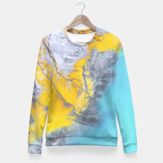 Miniatur Aerial Dreams Fitted Waist Sweater, Live Heroes