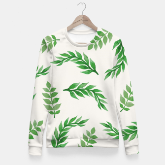 Imagen en miniatura de Leaves on Isabelline Fitted Waist Sweater, Live Heroes