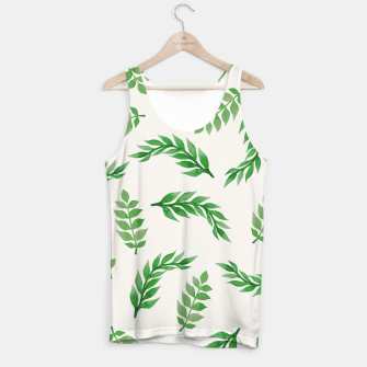 Thumbnail image of Leaves on Isabelline Tank Top, Live Heroes