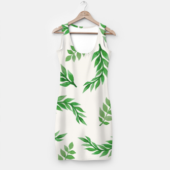 Imagen en miniatura de Leaves on Isabelline Simple Dress, Live Heroes