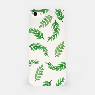 Miniaturka Leaves on Isabelline iPhone Case, Live Heroes