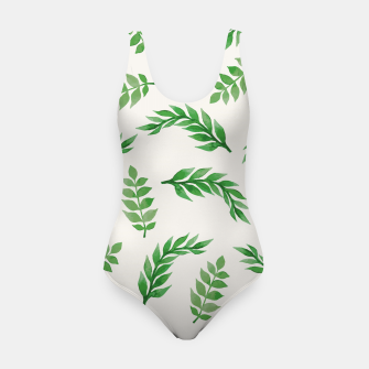 Thumbnail image of Leaves on Isabelline Swimsuit, Live Heroes
