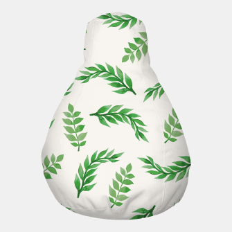 Thumbnail image of Leaves on Isabelline Pouf, Live Heroes