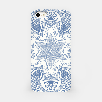 Miniaturka Blue and White Pottery Howlsplann Mandala iPhone Case, Live Heroes