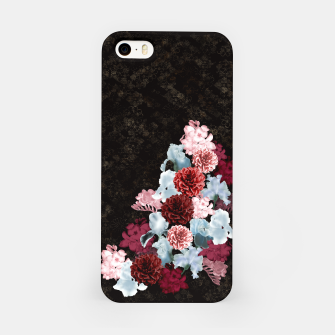 Miniaturka elegant flower gradation with Japanese traditional Kamon decoration like Kimono iPhone Case, Live Heroes