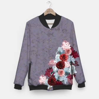 Miniaturka elegant flower gradation with Japanese Kamon decoration Baseball Jacket, Live Heroes