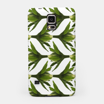 Miniatur Summer Greenery Samsung Case, Live Heroes