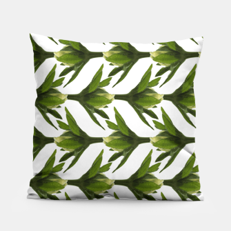 Summer Greenery Pillow Bild der Miniatur