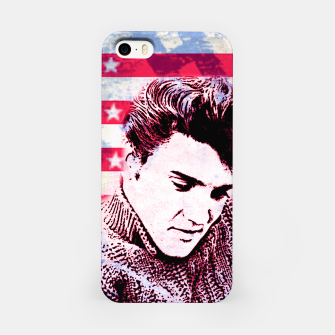 Elvis portrait nº1 iPhone Case Bild der Miniatur