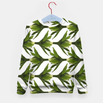 Thumbnail image of Summer Greenery Kid's Sweater, Live Heroes