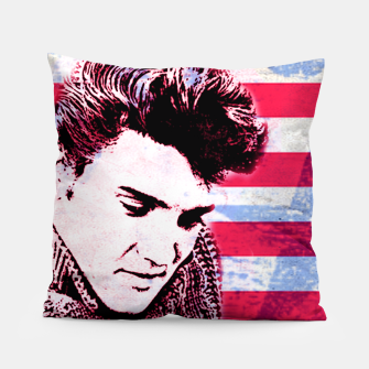 Elvis portrait nº1 Pillow Bild der Miniatur