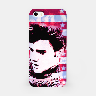 Elvis portrait nº2 iPhone Case Bild der Miniatur