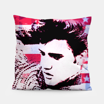 Elvis portrait nº2 Pillow Bild der Miniatur
