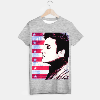 Elvis portrait nº3 T-shirt regular Bild der Miniatur