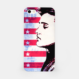 Elvis portrait nº3 iPhone Case Bild der Miniatur