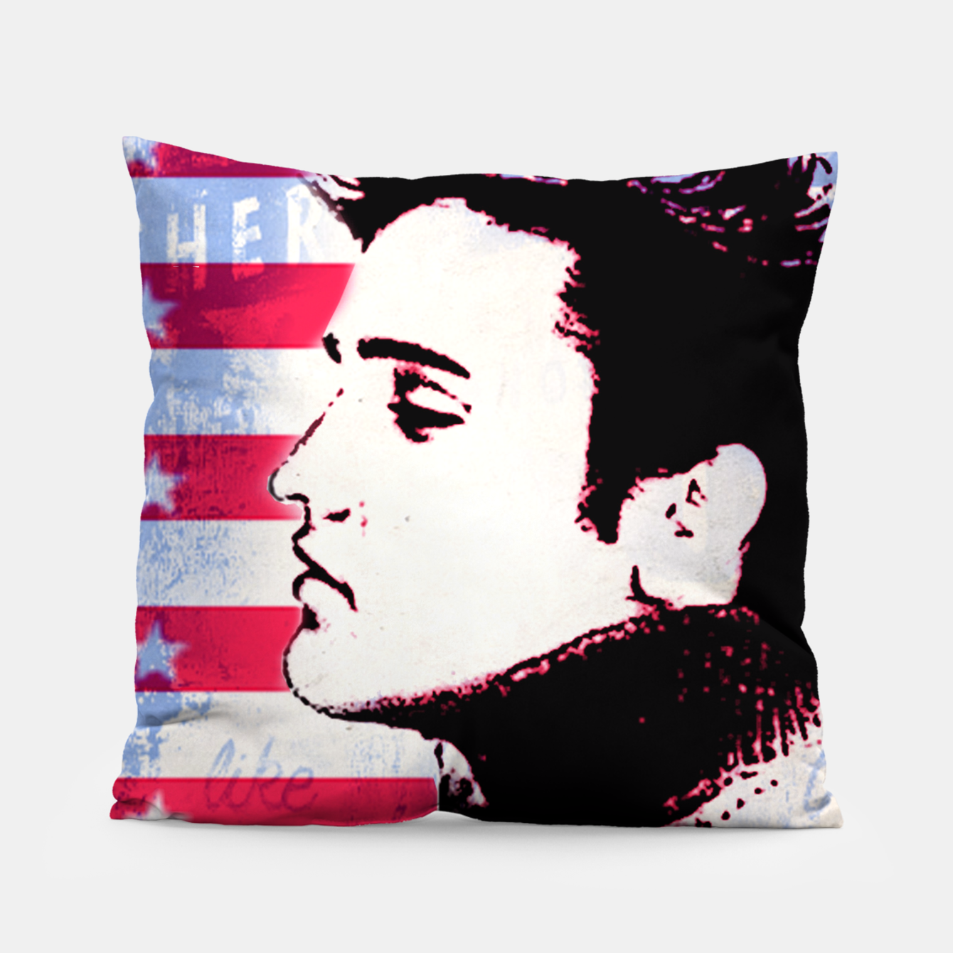 Foto Elvis portrait nº3 Pillow - Live Heroes