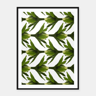Thumbnail image of Summer Greenery Framed poster, Live Heroes