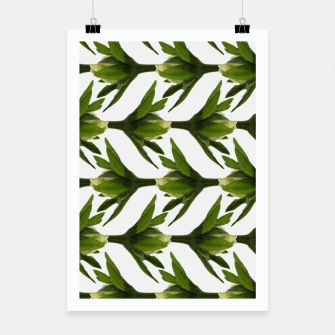 Thumbnail image of Summer Greenery Poster, Live Heroes