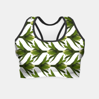 Summer Greenery Crop Top Bild der Miniatur