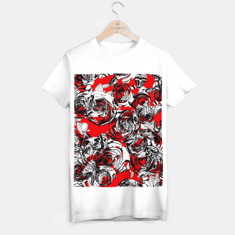 Miniatur Roses Wild RED T-shirt regular, Live Heroes
