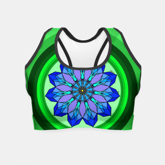 Miniatur Snowflake in Summer Crop Top, Live Heroes
