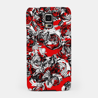Miniatur Roses Wild RED Samsung Case, Live Heroes