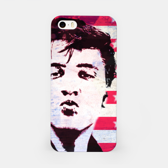 Elvis portrait nº5 iPhone Case Bild der Miniatur