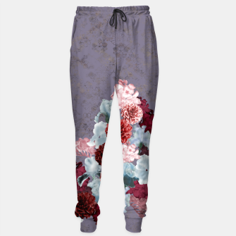 Imagen en miniatura de elegant flower gradation with Japanese Kamon decoration Sweatpants, Live Heroes