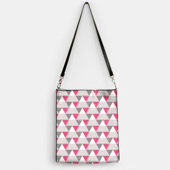 Imagen en miniatura de Geo Triangles - Pink and Grey Handbag, Live Heroes