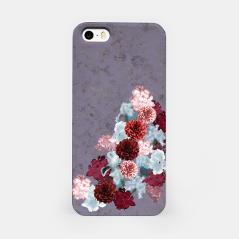 Miniaturka elegant flower gradation with Japanese Kamon decoration iPhone Case, Live Heroes