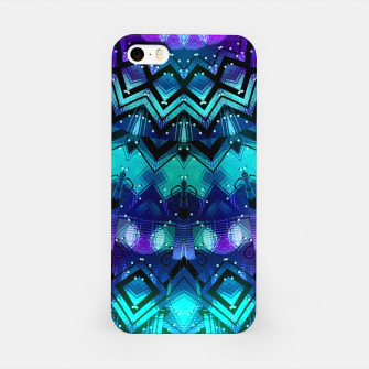 Thumbnail image of Celestial Midnight Mandala Half iPhone Case, Live Heroes