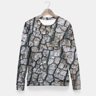 Imagen en miniatura de Rough Bark Texture Fitted Waist Sweater, Live Heroes