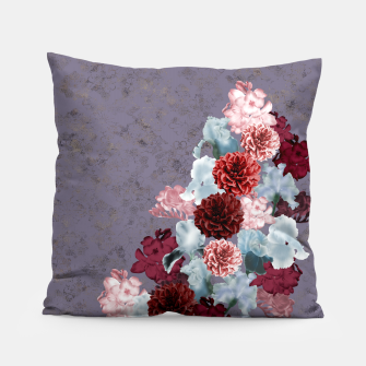 Thumbnail image of elegant flower gradation with Japanese Kamon decoration Pillow, Live Heroes