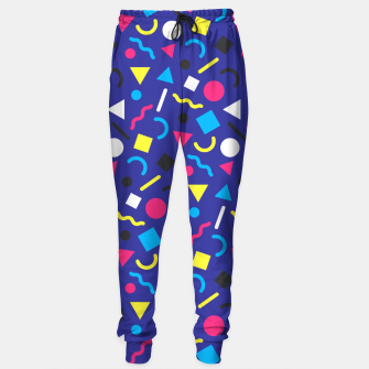 Miniaturka Retro Pattern (Brights) Sweatpants, Live Heroes