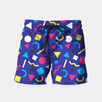 Miniaturka Retro Pattern (Brights) Swim Shorts, Live Heroes