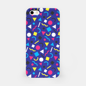 Miniaturka Retro Pattern (Brights) iPhone Case, Live Heroes