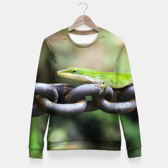 Imagen en miniatura de Anole on Chain Fitted Waist Sweater, Live Heroes