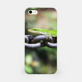 Miniaturka Anole on Chain iPhone Case, Live Heroes
