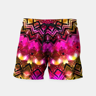 Thumbnail image of Golden Dawn  Swim Shorts, Live Heroes