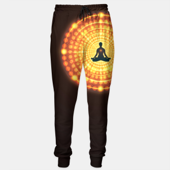 Miniaturka Meditation Yoga Design Sweatpants, Live Heroes