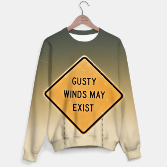 Imagen en miniatura de Gusty Winds Sign Sweater, Live Heroes