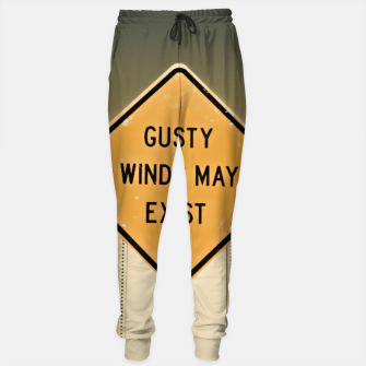 Miniaturka Gusty Winds Sign Sweatpants, Live Heroes