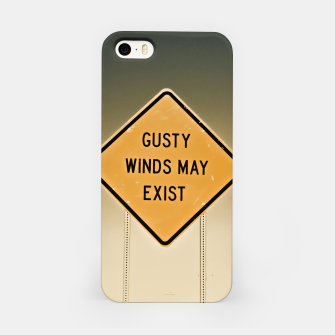 Miniaturka Gusty Winds Sign iPhone Case, Live Heroes