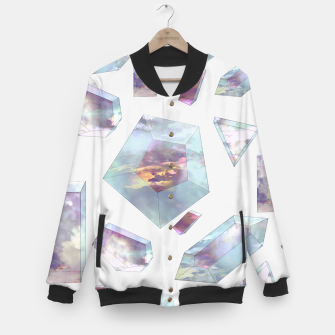 Miniatur Refract for Atmosphere Baseball Jacket, Live Heroes