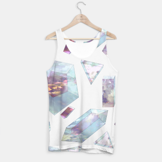 Thumbnail image of Refract for Atmosphere Tank Top, Live Heroes