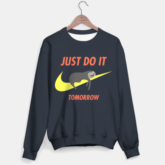 Imagen en miniatura de Just do it tomorrow Sweater, Live Heroes