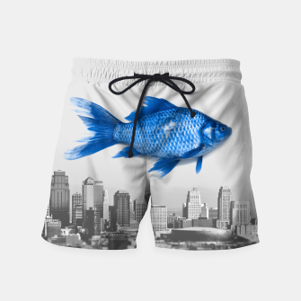 Miniaturka Goldfish Bluefish Swim Shorts, Live Heroes