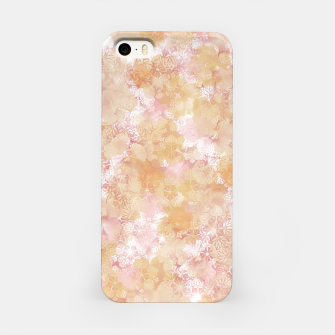 Miniaturka elegant flower hibiscus with Japanese traditional Kamon decoration like Kimono iPhone Case, Live Heroes