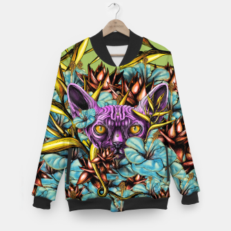 Miniatur The Sphynx and the Flowers Baseball Jacket, Live Heroes